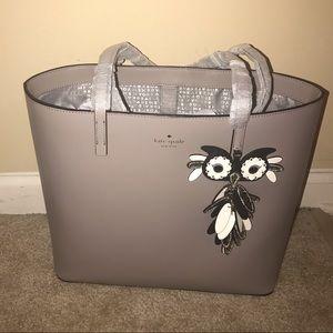 NWT Kate Spade Owl Tote